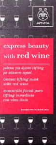 express beauty with red wine