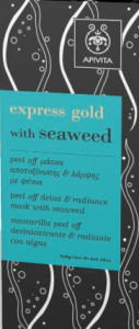 express gold with sea weed