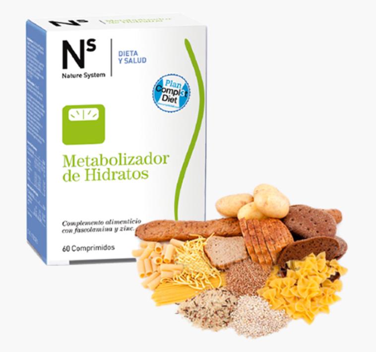 fase 3 metabolizador de los hidratos de carbono