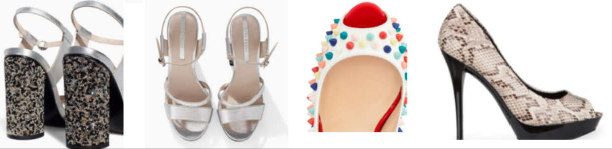 zapato glamour def