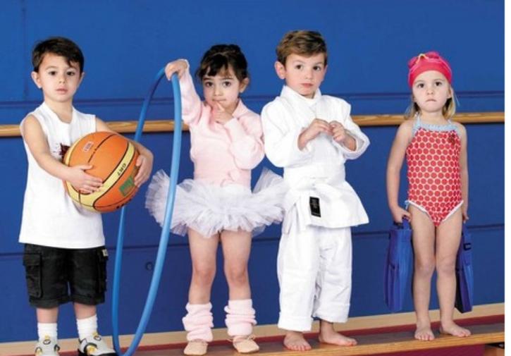 deporte de niño