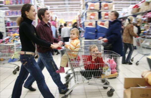 hacer la compra en familia