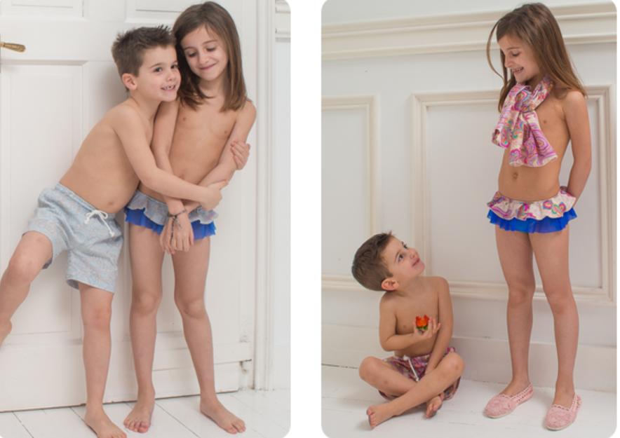 niños a conjunto como mami