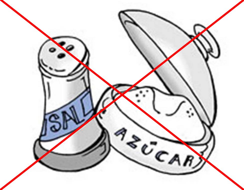 no sal ni azucar