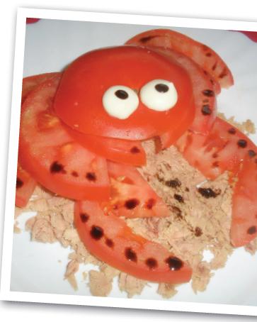 ensalada de cangrejo