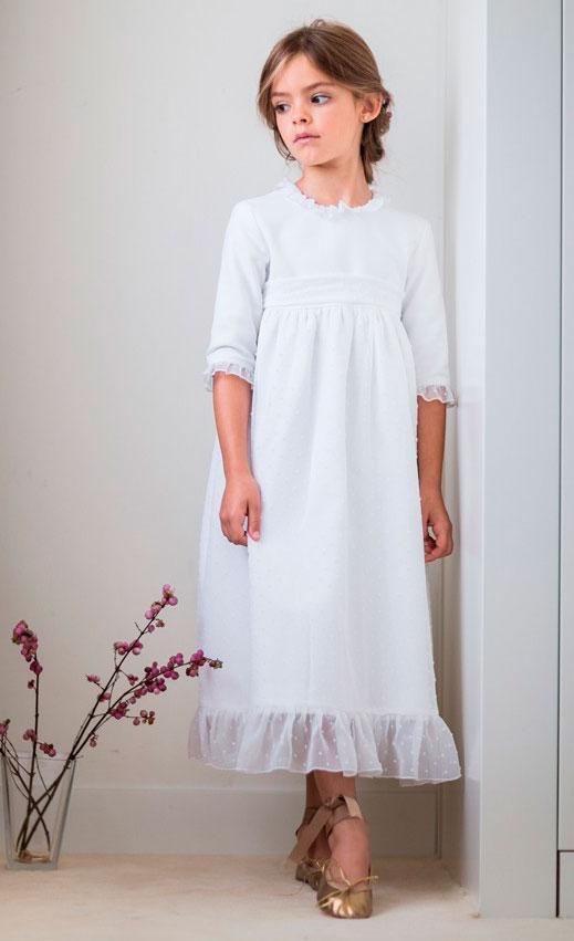 vestido comunion petritas