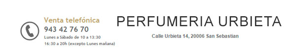 perfumeria urbieta