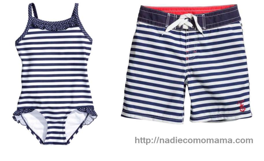 d01e551f10bd Bañadores a juego con tendencia Navy » Nadie como mamá
