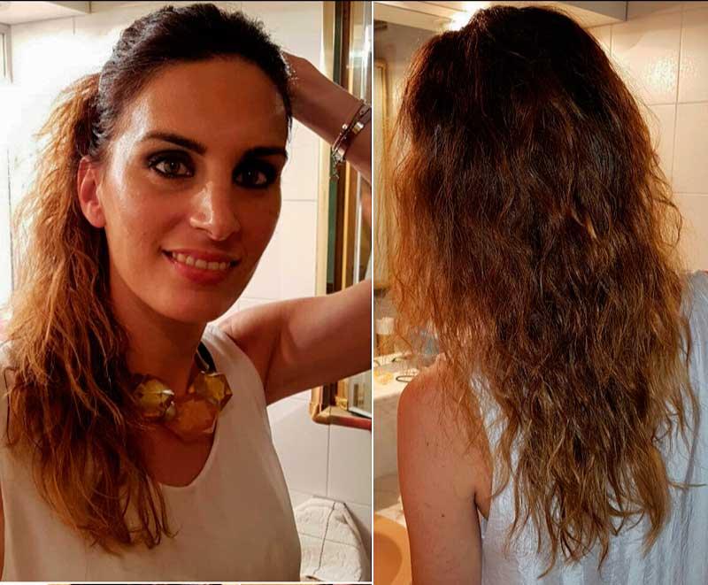Como hacer el pelo rizado con plancha
